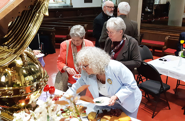 Retired clergy tea changes venues