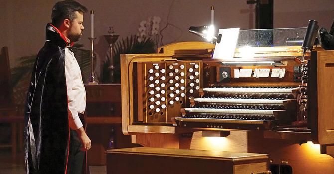 The 14th Annual Hallowe'en Organ Spooktacular