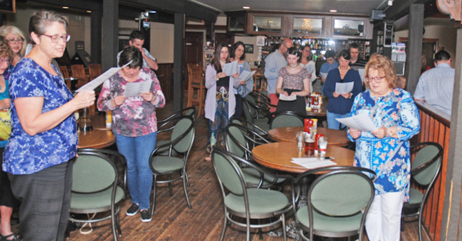 Carols at the Pub in Maple Ridge