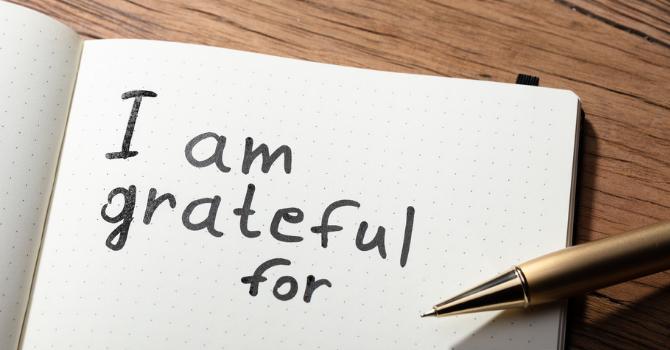 A Gratitude Moment: Sue Samson image