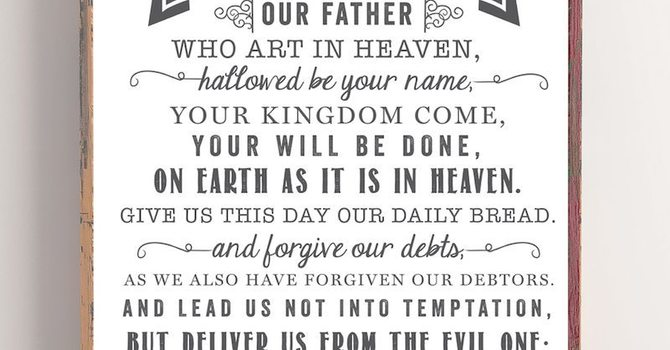 On the Lord's Prayer