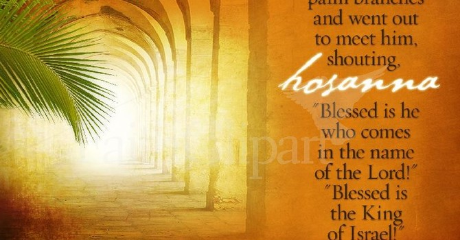 March 20th - Palm Sunday Bulletin image