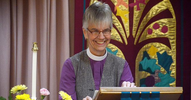 Archbishop Skelton Visits St. Jude's image