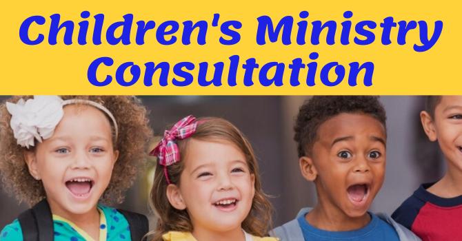 Children's Minsitry Consultation