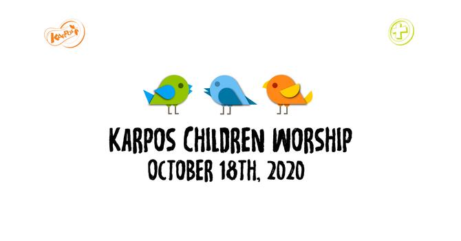 201018 Elementary Sunday Worship