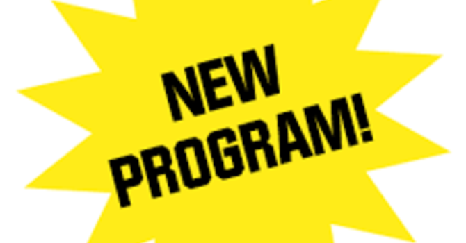 New Programs for September image