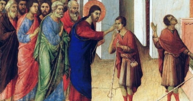 Unpacking Sunday's Sermon: The Man Born Blind image