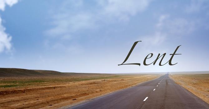 Observing Lent image