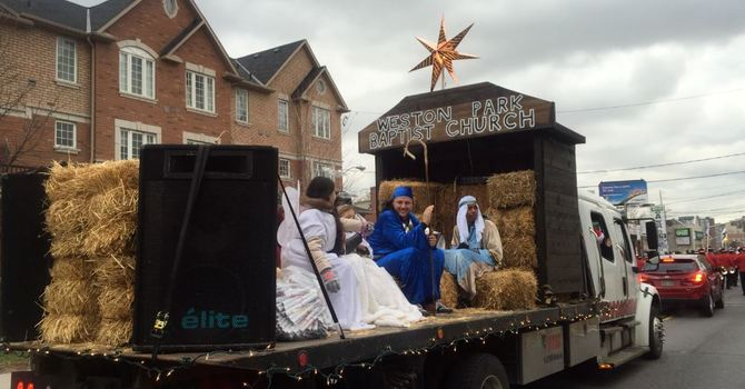 Weston Santa Claus Parade
