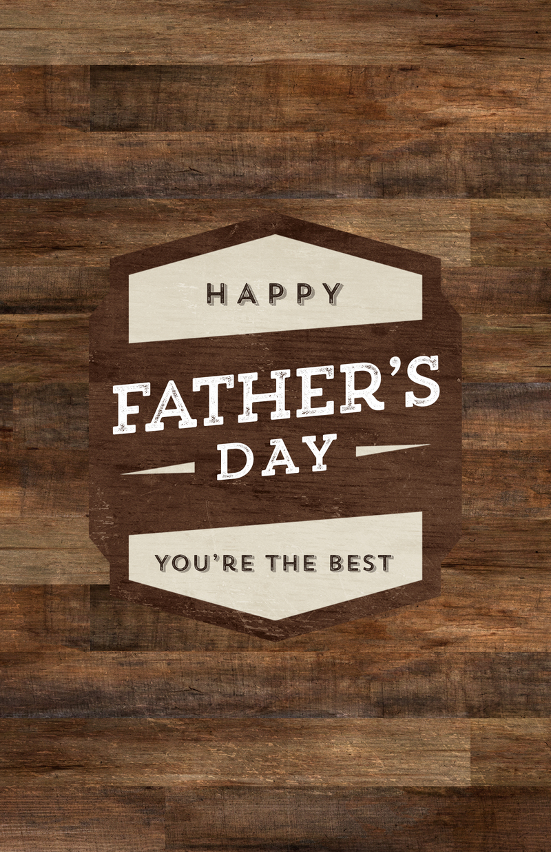 Father's Day: Our Response