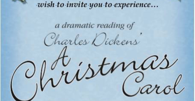 Parish to host Dickens Christmas reading image