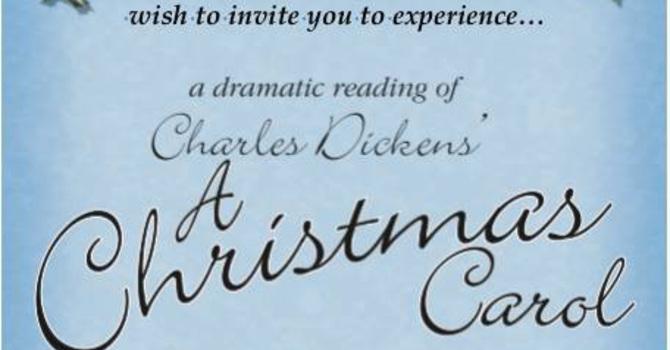 Parish to host Dickens Christmas reading image
