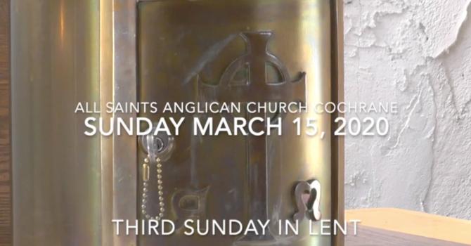Eucharist Service Lent 3