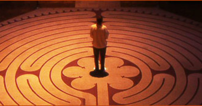 Taizé and Labyrinth