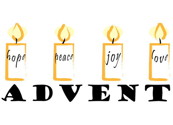 advent 2018 hope peace joy and love