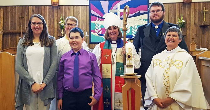 St. Saviour's Celebrates Baptism and Confirmation