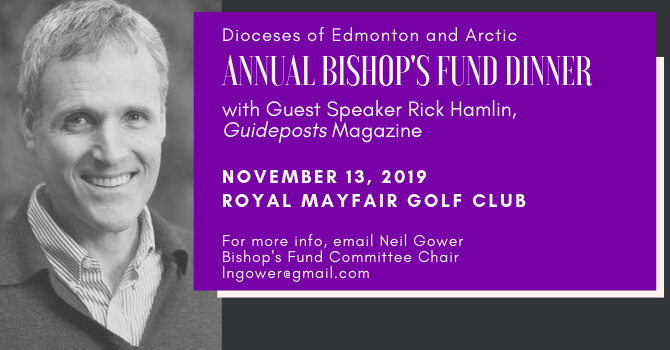 Save the Date: Annual Bishop's Fund Dinner