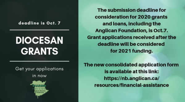 Deadline for diocesan grants