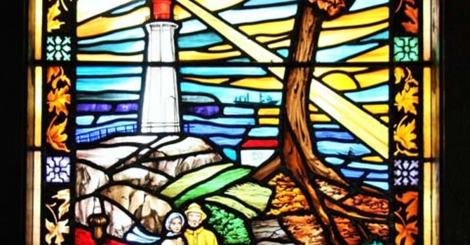 Stained-Glass Windows Dedication at St. Francis image