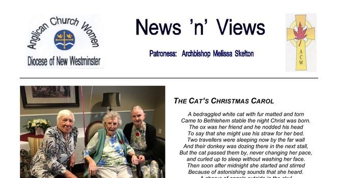 ACW Newsletter for December 2019