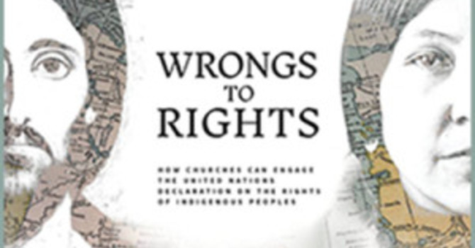 Wrongs to Rights Book Study this Fall and Winter in Agassiz image