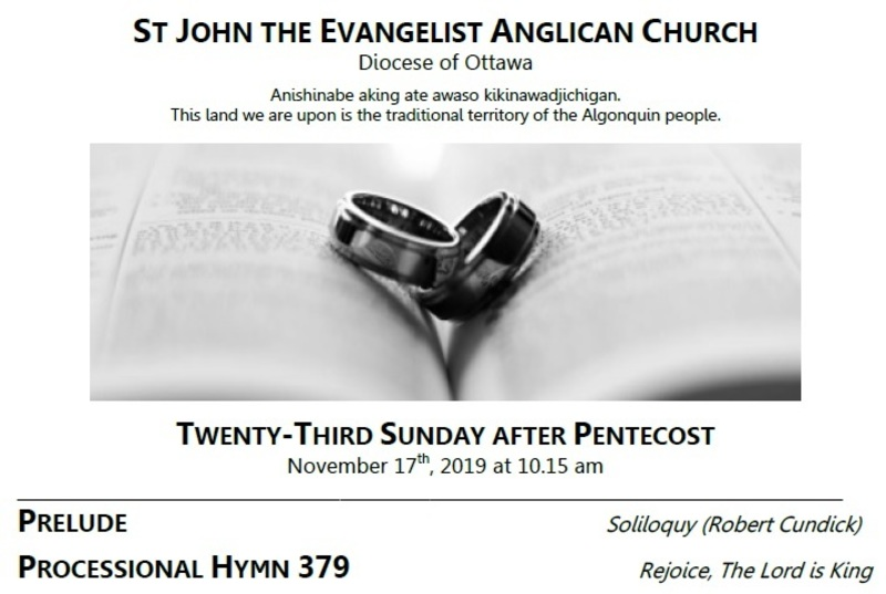 The Twenty-third Sunday after Pentecost