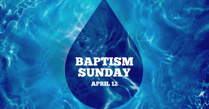 Interested in Baptism? image