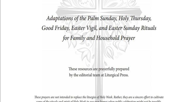 RESOURCES for HOLY WEEK image