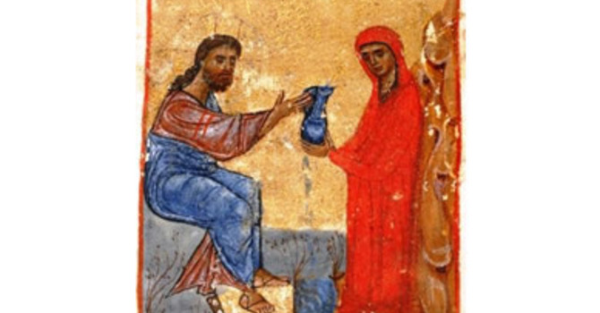 Art and Soul for Lent Day 39 - Ghazal: Woman At The Well