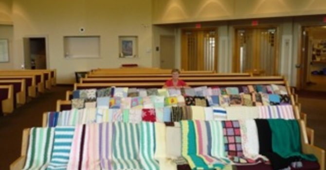 Project Linus Made 80 Blankets! image