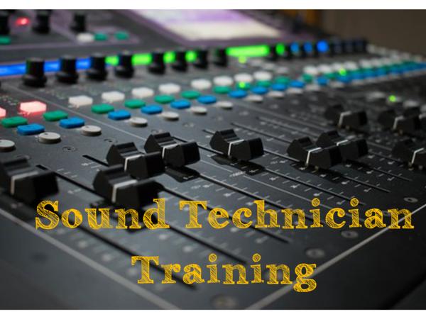 Sound Technician Training