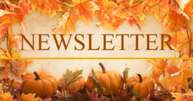 2019 Trinity United Autumn Newsletter image