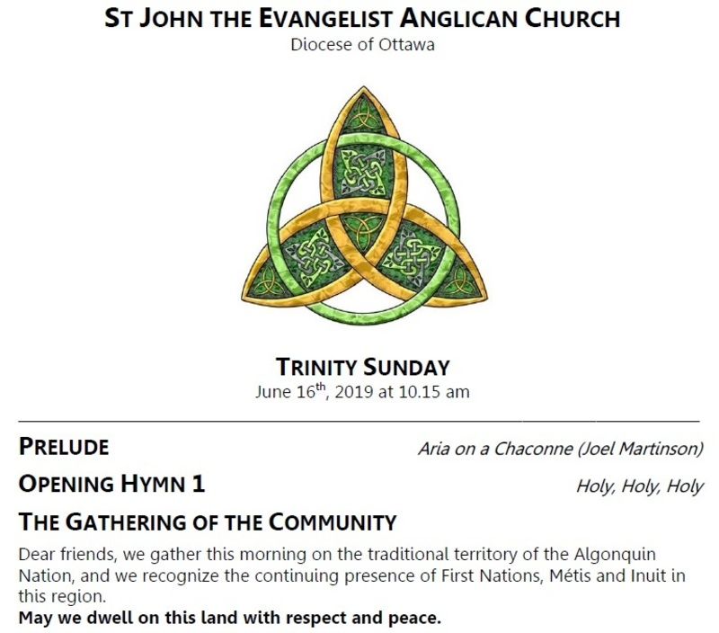 Trinity Sunday | St John the Evangelist