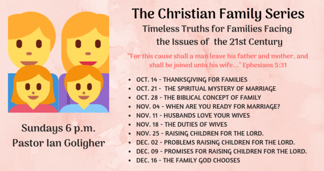 The Christian Family Series