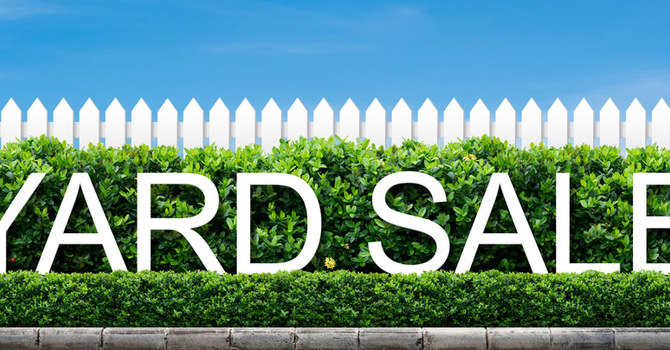 Missions Yard Sale