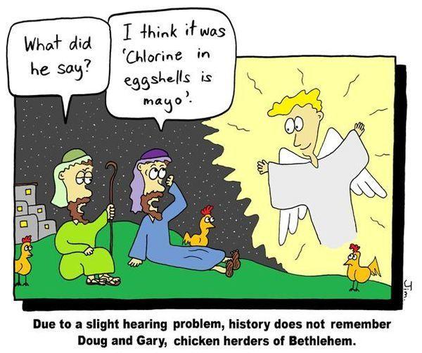 Christmas Carol Humour