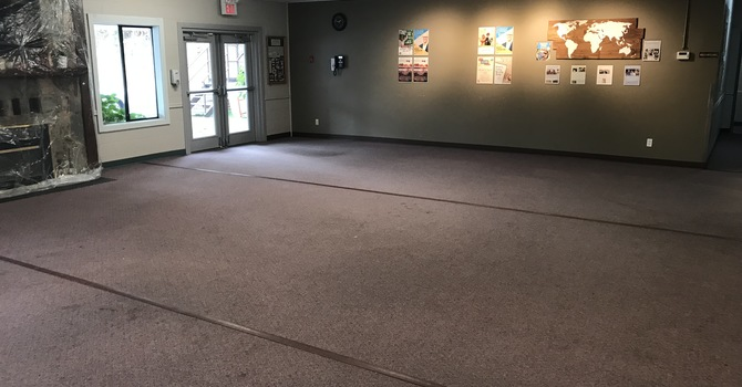 Foyer Floor Renovation image
