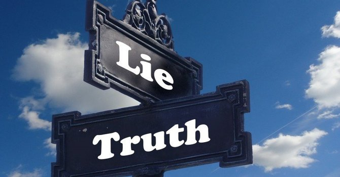 Is it ever right to lie? image