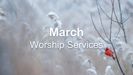 March - Worship Series