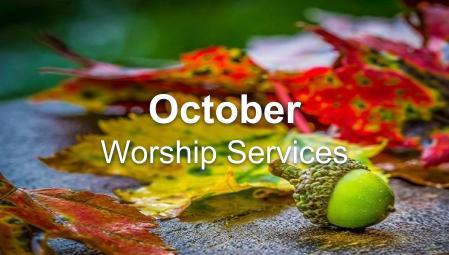 October - Worship Series