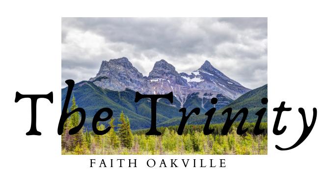 The Trinity - God the Holy Spirit