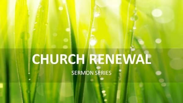 教會更新 Church Renewal