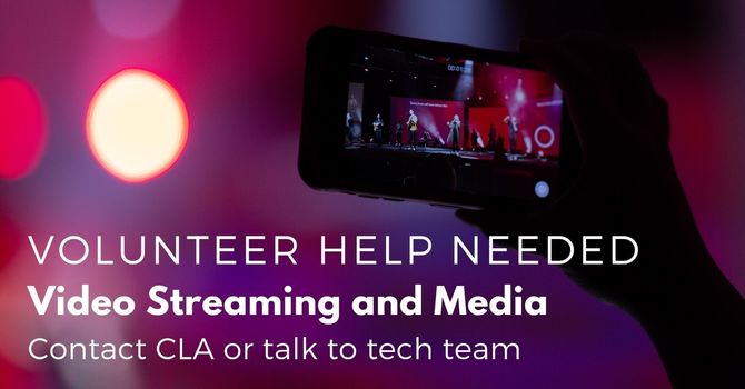 Live Stream Help Needed image