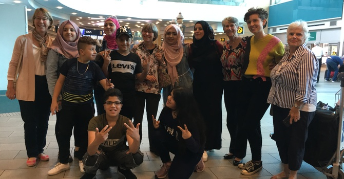 Refugee Family has arrived in Vancouver! image