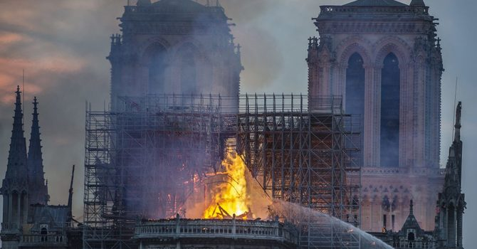 History Burning Before Our Eyes: The Tragedy of Notre Dame and the Soul of Modern France image