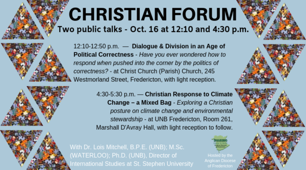 Christian Forum public talks