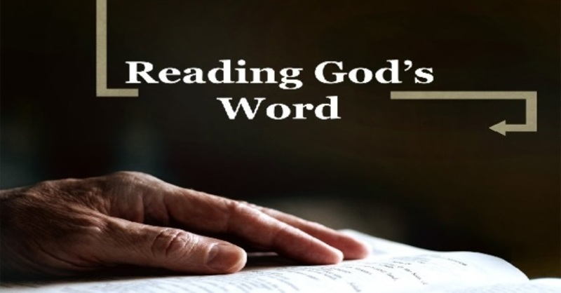 Reading the Bible to Discover What it Says Not What We Want it to Say