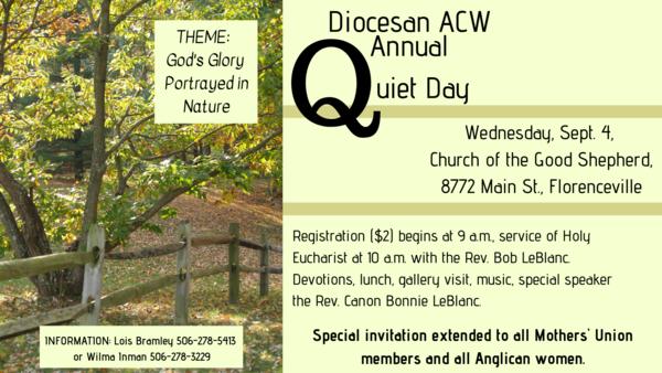 ACW Quiet Day