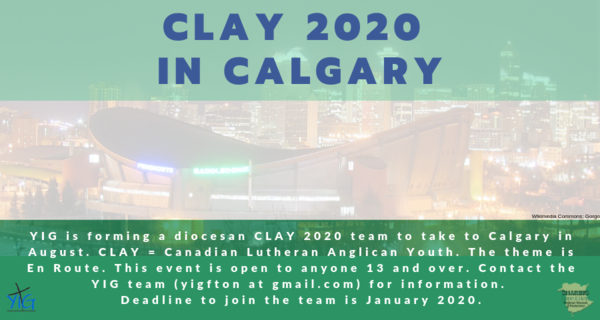 Last chance to join CLAY!