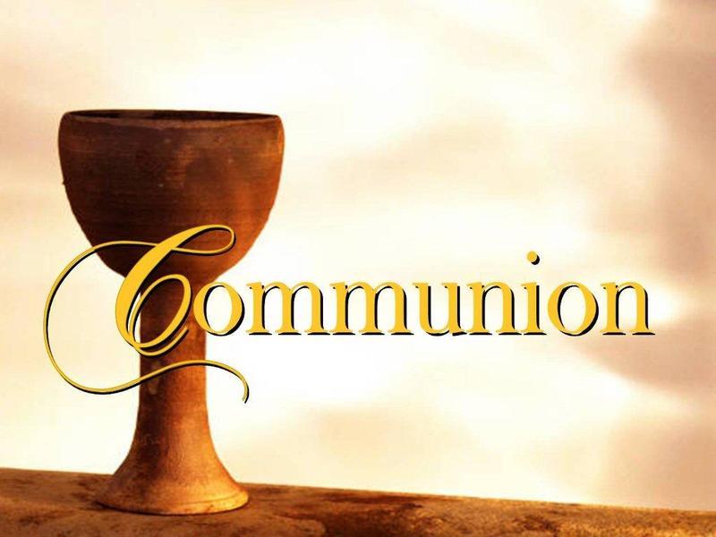 Communion ~ Sharing Service
